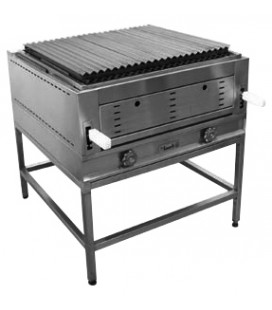 PLANCHA GRILL OPPICI 79X81 CM ACERO