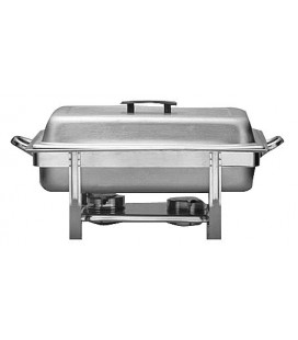 CHAFFING RECT 8.5L INOX 1/1 65MM ALCOHOL (A)