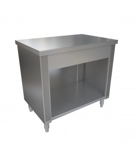 MESON NEUTRO 140X60X85CM INOX BIG COOK