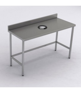 MESON DESCONCHE 140X60X85CM INOX BIG COOK