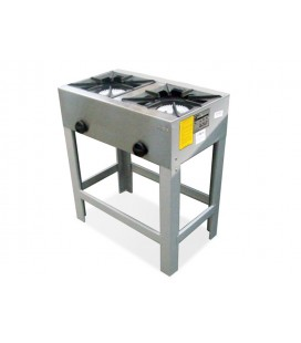 ANAFE ALTO BIG COOK 2 PLATOS 43X43 CM GAS LICUADO